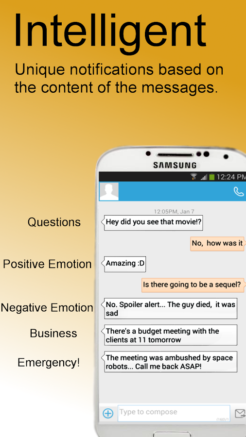 Mumble! - Smart Notifications - screenshot
