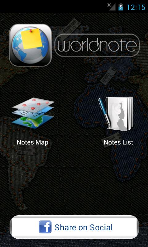 Worldnote (Free) - screenshot