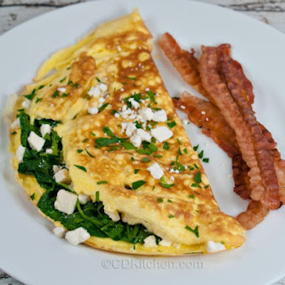 Gourmet Greek Omelet