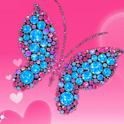 Butterfly With Diamonds Live icon