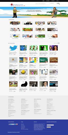 【免費商業App】FiverServicesNet Marketplace-APP點子