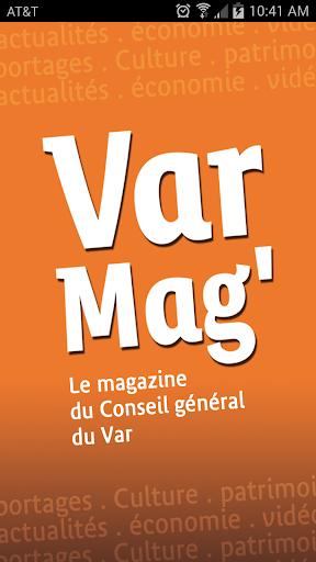 Varmag magazine du var - CG83