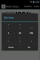 Screenshot of WOOL Streamer