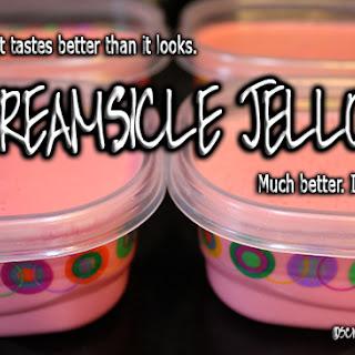 Keto Creamsicle Jello