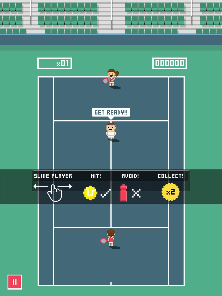 Tiny Tennis screenshot #2