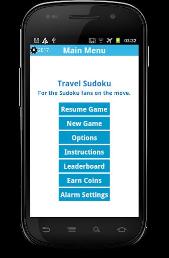 Travel Sudoku - With GPS Alarm