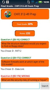 CHFI 312-49 Exam Prep - screenshot thumbnail