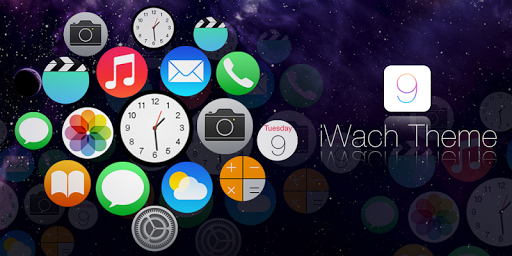 iWatch Theme and launcher