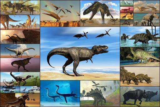 恐龍拼圖兒童 - Dinosaur puzzle games