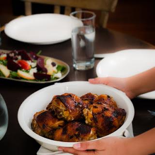 Honey Spice Marinated Grilled Chicken