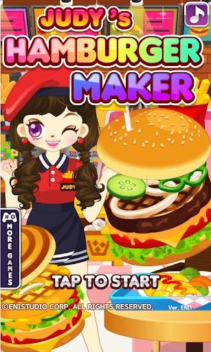 Judy's Hamburger Maker - Cook