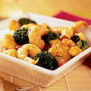 Curried Coconut Shrimp Stir-Fry.