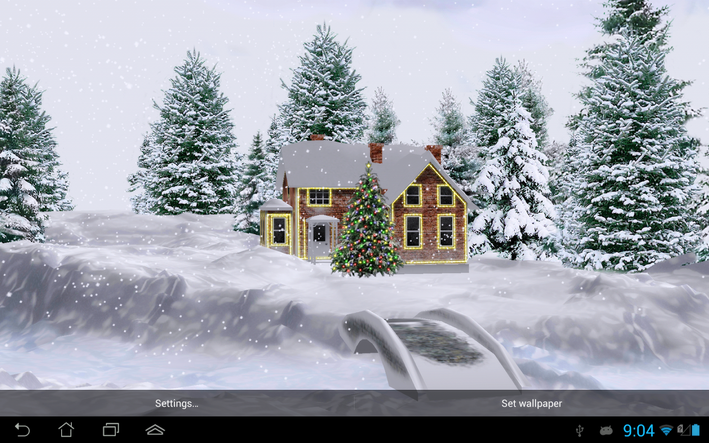 Snow HD Free Edition - screenshot