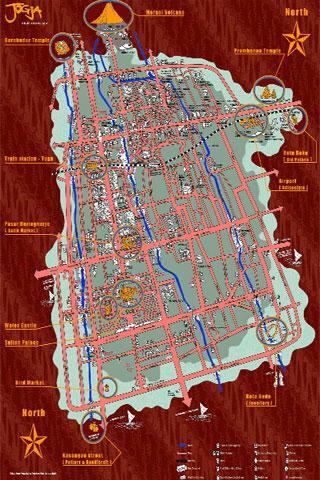 Jogja Tourist Map - screenshot