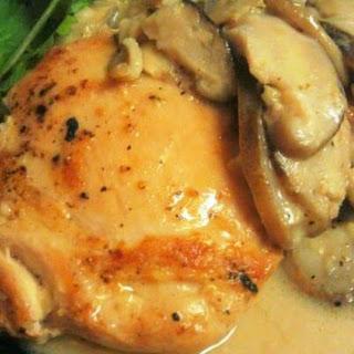 Paleo Coconut Ginger Mushroom Chicken