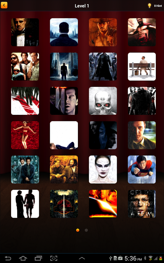 Movie Quiz Game : Film Posters- screenshot