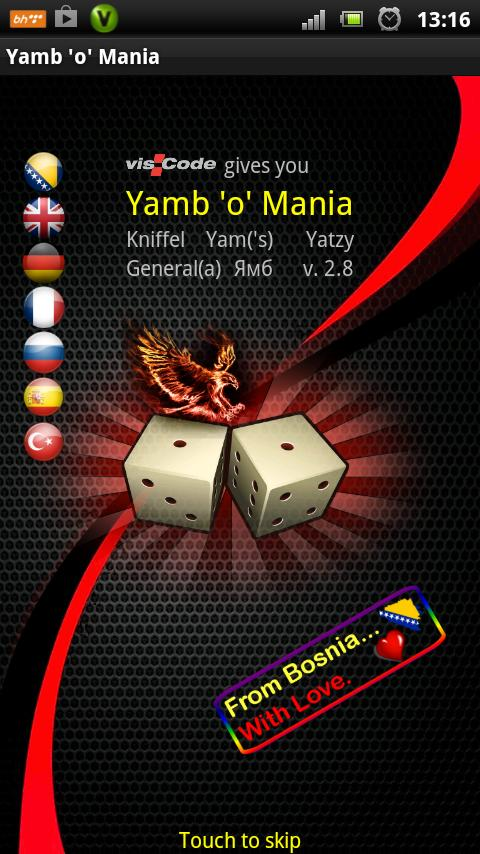 Yamb o Mania- screenshot