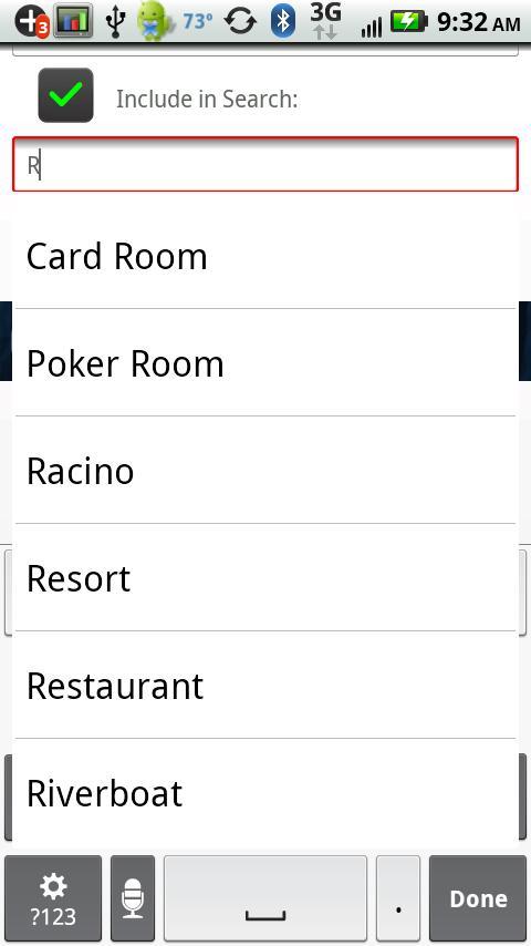 Casinos- screenshot