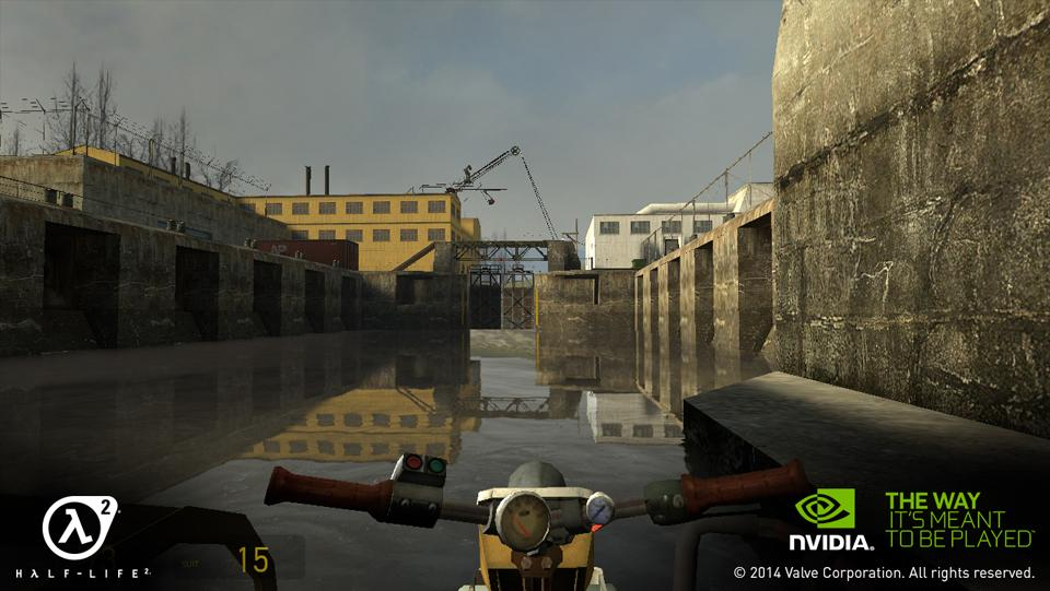 Half-Life 2 for NVIDIA SHIELD- screenshot