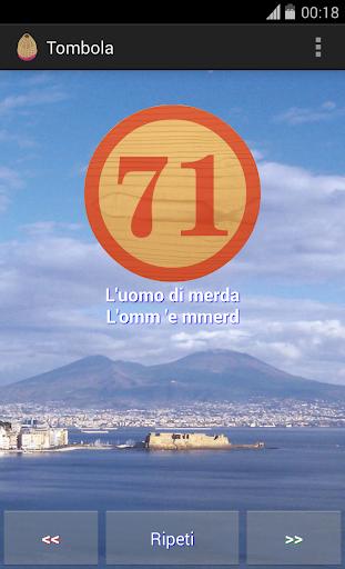 Tombola Italian Bingo