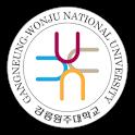 강릉원주대학교 원주캠퍼스 logo