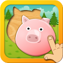 Animal Fun Puzzle for Toddlers icon