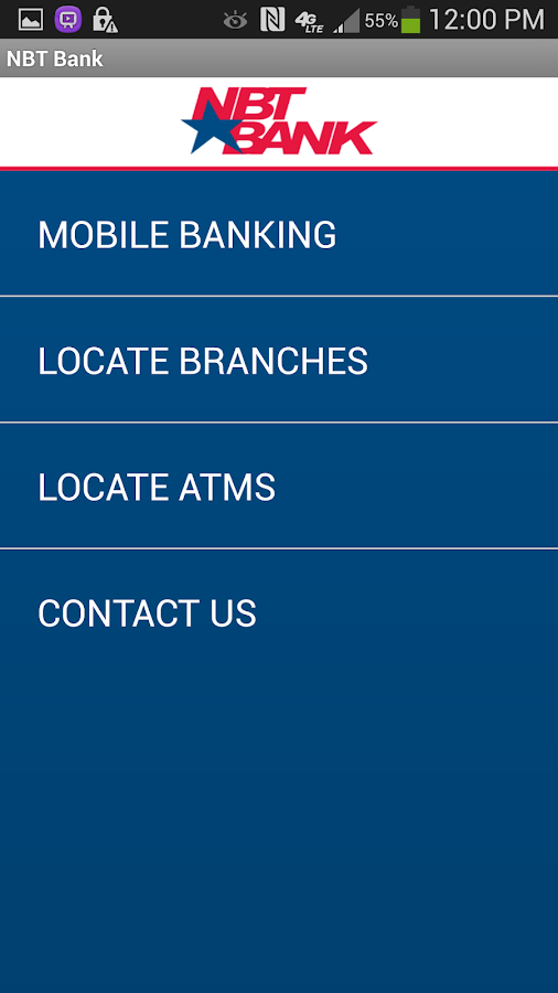 NBT Bank - screenshot