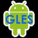 GLES 2.0 Framework logo