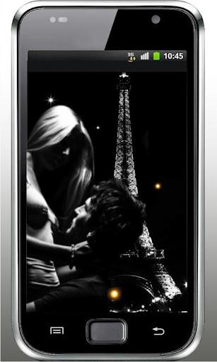 Love Paris live wallpaper