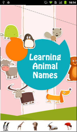 Learning Animal Names
