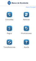Screenshot of Banco de Occidente B.P