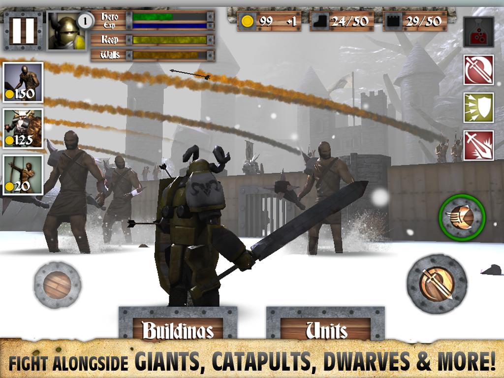 Heroes and Castles screenshot #10