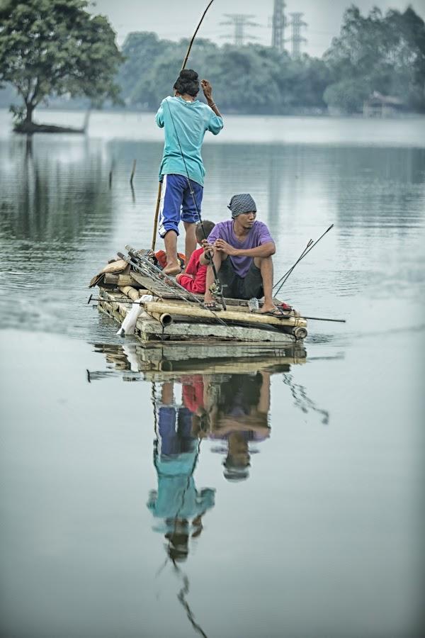 Fishing by Yadi Suyanto - People Portraits of Men
