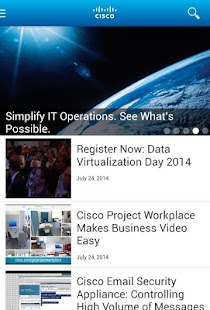 Cisco Technical Support Mobile App