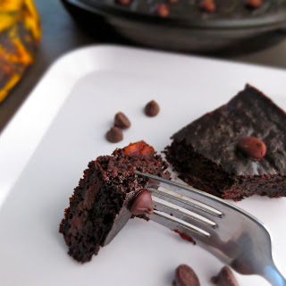 Dark Chocolate Plantain Brownies (Paleo).