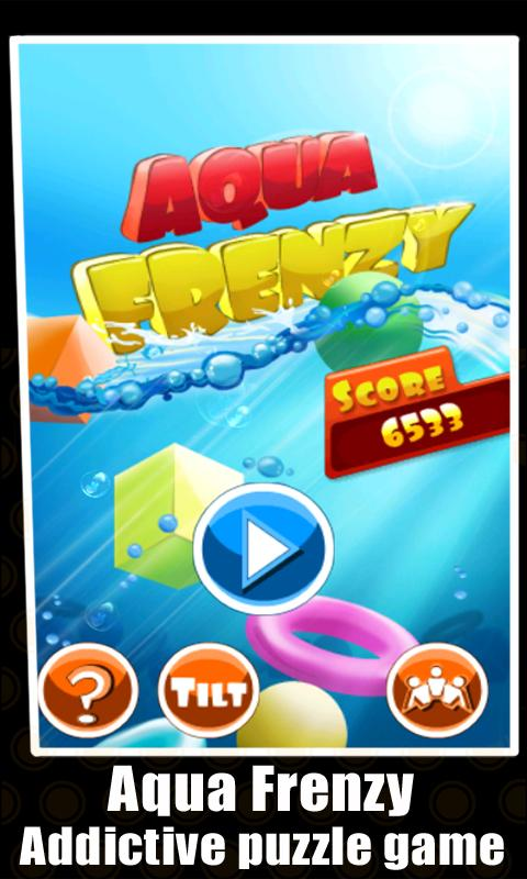 Aqua Frenzy - screenshot