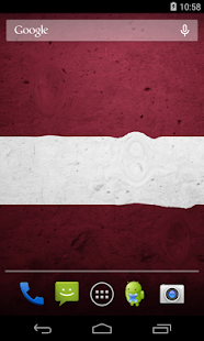 Latvia Flag Wallpaper