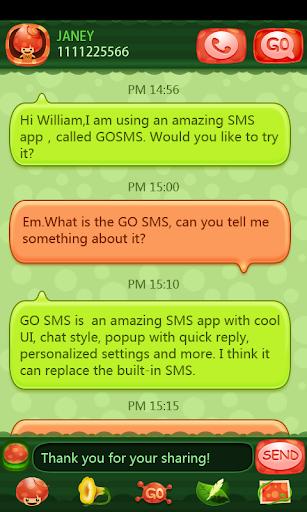 GO SMS Pro Moji Theme