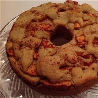 Moist Passover Apple Cake.