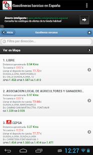Gasolineras Baratas en España - screenshot thumbnail
