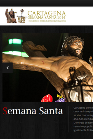 Semana Santa Cartagena - screenshot