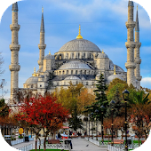Blue Mosque Live Wallpaper