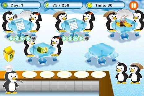 Penguin-Restaurant-Waitress