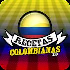 Recetas Colombianas 2.0 icon