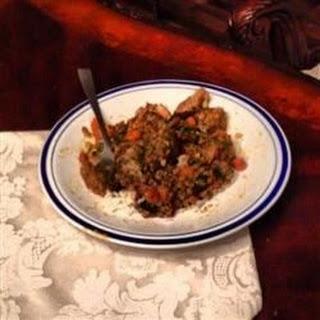 Mediterranean Lamb and Lentil Stew.