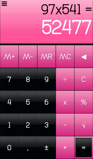 THEME FOR SCALC GLOSSY PINK