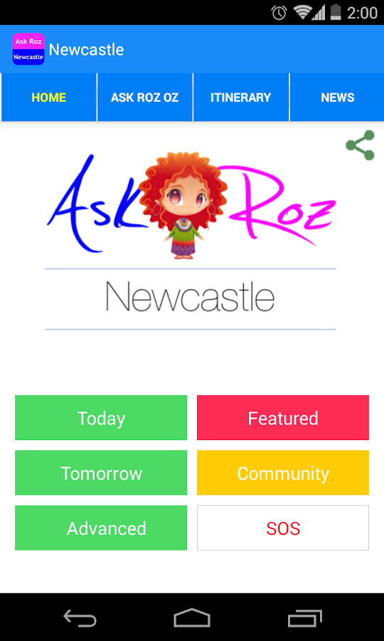 Ask Roz Newcastle- screenshot