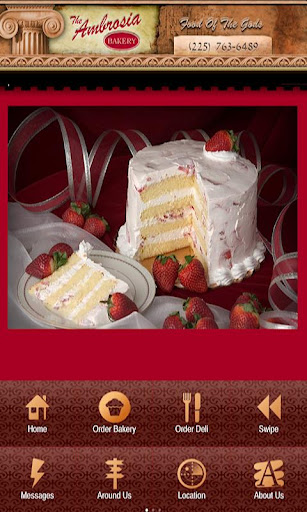 【免費商業App】The Ambrosia Bakery-APP點子