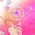 Beautiful Flower Clock icon