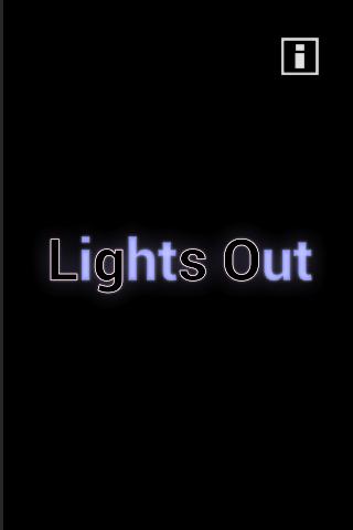 Lights Out Dark